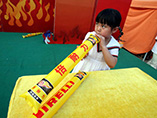 eco printed PE inflatable bangbangs stick wholesale