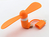 Promotional Mini 2 in 1 Mobile Fan