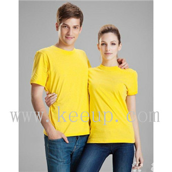 Customize Lovers yellow t shirt woman or man t shirt