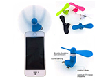 New design 2 in 1 USB Phone fans