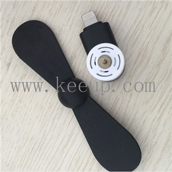 Summer best Ad mobile phone usb mini fan for iphone