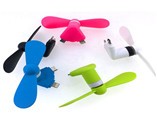 Customize New Fashion Pocket Fan Portable Plastic M