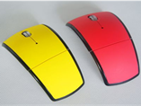 Customize wireless folding mouse with your logo for