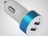 wholesale dual USB car charger for smartphone