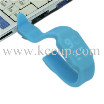 Promotion specail used silicone LED 8G WATCH usb fl