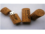 Promotional eco-friendly Wooden cork USB flash driv