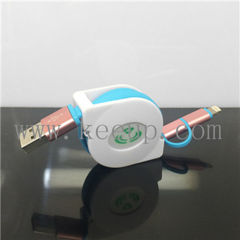Custom logo multi charging cable iphone 6 charging