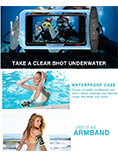 2 in 1 Waterproof Cellphone Dry Pouch