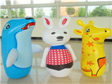 Branding Inflated PVC funny animal tumbler