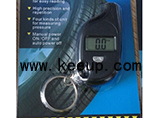 Promotional digital tire pressure gauge keyring