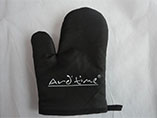 Microwave oven gloves with custom logo printing