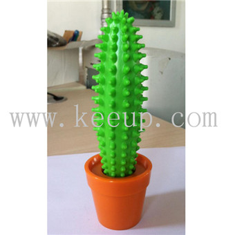 Silicone material Cactus shaped ballpoint pen