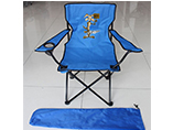 Branding folding arm chair