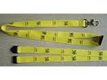 Personalized size and printing lanyard