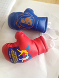 Ad products boxing glove key rings