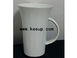 Horn shape ceramic Mugs With Your Branded Logo For