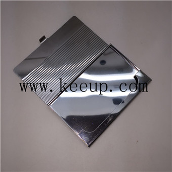 Aluminum material business card holder with your la