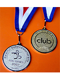 Customized Cheap Blank Medal and Trophy