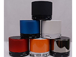 Metal mini speaker with branded logo printing