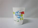 Cheap wholesale PP plastic cup print with your desi