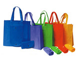 Promotional Cheap folding non woven bag with custom