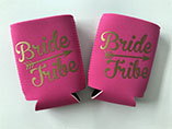Cheap stubby can holder with personalized logo impr