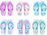 wholesale comfortable beach flip flops with persona