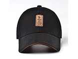 Wholesale metal buckle baeball hats with customized for promotionial gifts