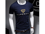 wholesale durable T-shirts for man with printed logo
