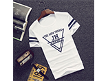 Promotiona 180g cotton T-shirt with custom logo for