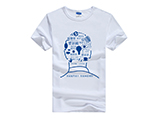Wholesale Summer practical cutton T-shirts with custom logo for promotion