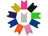 Multi-colour custom silicion card case for advertis