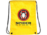 Customized polyester drawstring bag with logo brand