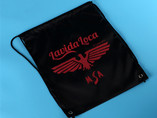 Wholesale high quality custom drawstring bag with logo