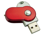 Twist usb flash drives 4 GB