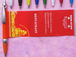 Wide clip Advertising banner pen
