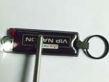 Promotional PVC LED keyring