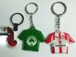 Clothing Shaped PVC LED Keryings and Keychains