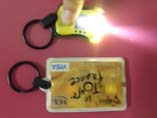 Hot Sell PVC LED keychains