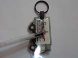 Promotional Car Shaped PVC LED Keychains