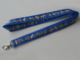 Heat Transfer Polyester Lanyard with dog clip