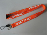 Polyester Lanyard with safety break