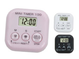 3 button square digital timer