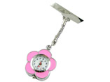 Flower Shape Nurse Watch FOB