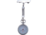 Metal Quartz nurse watch FOB