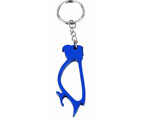 Promotional Parrot Bottle Opener Keyrings