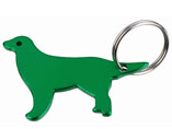 Dog Shaped Bottle Opener Keychain
