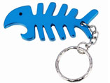 Fish skeleton style Bottle Opener Keyring