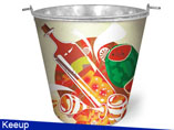 Advertising Metal Ice Bucket