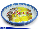 Beer Metal Tin Tray